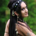 Bellydance Shaheen over sholder Yorktown shoot